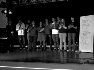 Alle Poeten auf dem PoetrySlam im E-Werk in Erlangen