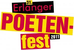 Logo 31. Erlanger Poetenfest 2011 Copyright: Erlanger Poetenfest