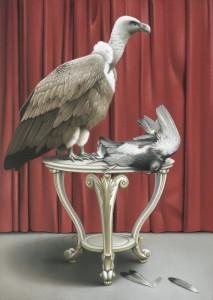 Zwei Vögel. Copyright: Kunstpalais Erlangen