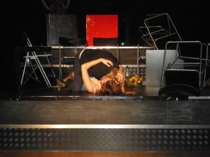 Faust küsst Gretchen
