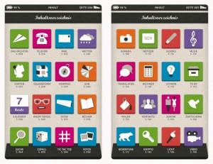 Inhaltsverzeichnis des Smartbook