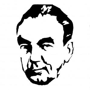 Portrait von Erich Kästner. Urheber und Quelle: Wikipedia Commons/ Paulae