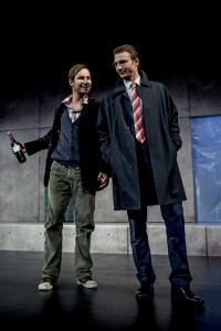 Thomas und Peter Stockmann (Quelle: Stadttheater Fürth).
