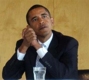 US-Präsident Barack Obama (Quelle: Wikimedia Commons/ Magnus Manske).