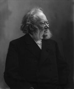 Henrik Ibsen, der Autor von Ein Volksfeind (Quelle: Wikimedia Commons/ Ysomte).