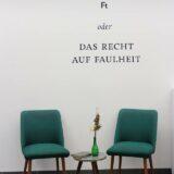 Katrin Radkte: Das Recht auf Faulheit (Foto: Felicia Margenfeld)