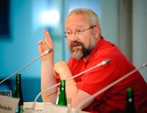 Prof. Dr. Herfried Münkler im Jahr 2010. Foto. Stephan Röhl (Quelle: Wikimedia Commons/ Boing-boing).