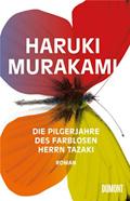 Cover von Die Pilgerjahre des farblosen Herrn Tazaki (Quelle: Dumont Verlag).