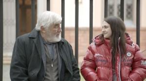 """Mario Adorf und Katharina Derr im Eröffnungsfilm """"Der letzte Mentsch"""""""