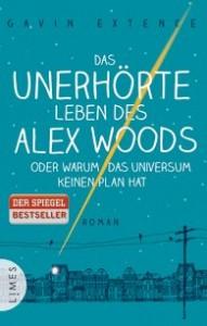 """Cover zu """"Das unerhörte des Leben des Alex Woods"""" von Gavin Extence (Quelle und Urheber: Limes Verlag)."""