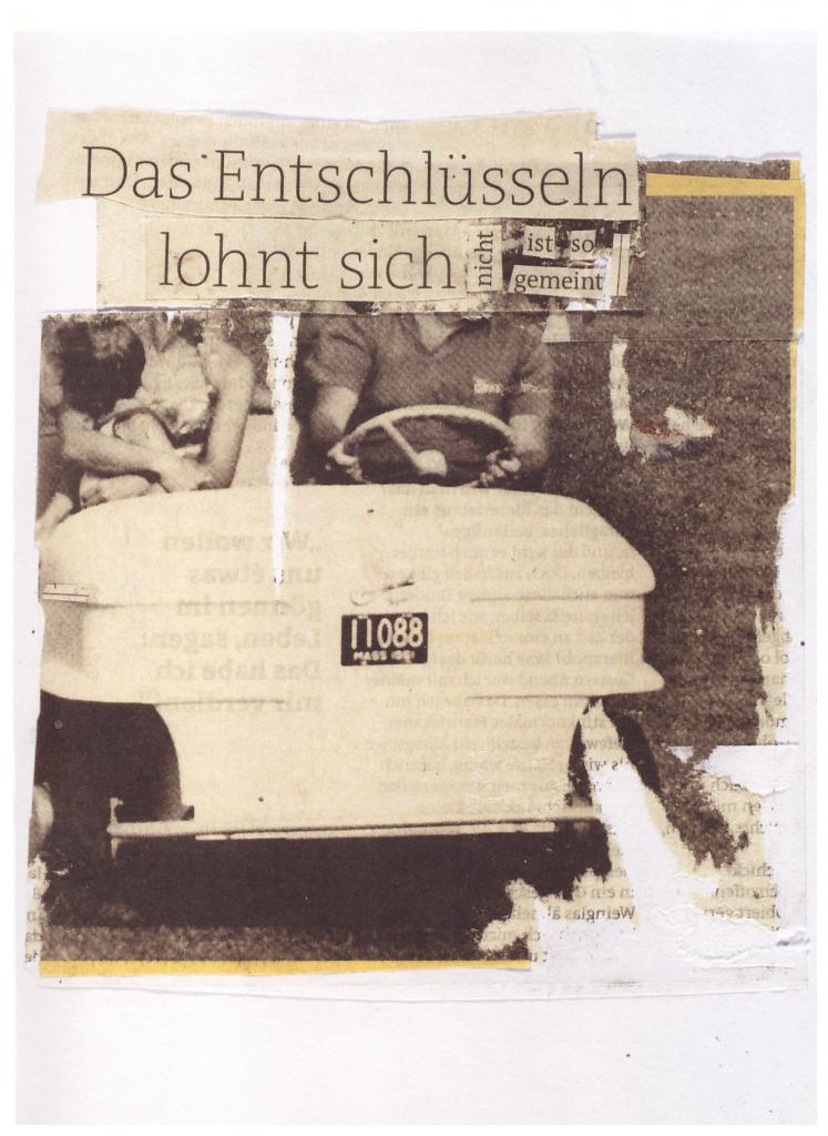 Lydia Daher: Und auch nun, gegenüber dem Ganzen - dies. Dresden, Leipzig 2014, S. 53.
