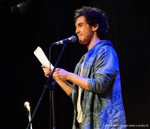 Zweiter Gewinner: Julian Heun Copyright Poetry Slam Erlangen