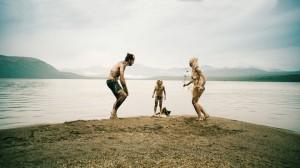 Uli (Hans Löw), Finn (Leander Nitsche) und Hedi (Laura Tonke) © Komplizen Film / Pandora Film 2015