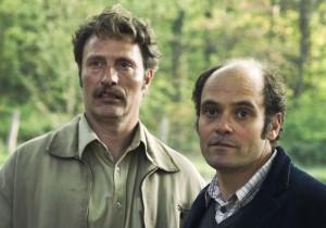 Die Halbbrüder Elias (Mads Mikkelsen) und Gregor (David Dencik)© Rolf Konow DCM