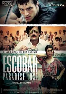 Plakat von Escobar – Paradise Lost. Foto: Alamode Filmverleih