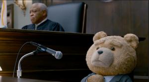 Bürgerrechte für den Bären? Ted vor Gericht Bild: Universal Studios