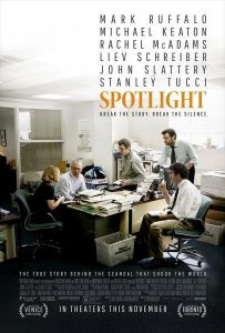 Bild: Filmplakat Spotlight © Paramount Pictures Germany