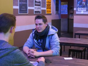 Dame im Interview mit dem Reflexmagazin Bild: Miriam Heller