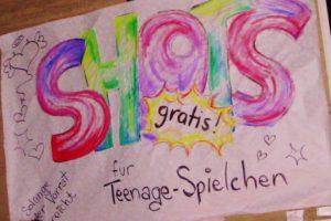 ARENA - Shots für Teenage-Spielchen