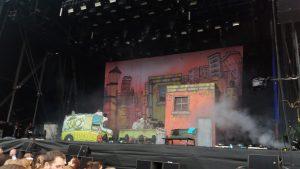 Das grandiose Bühnenbild bei SSIO. Bild: Nico Hilscher