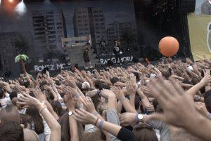 Bonez MC & Raf Camora wissen wie man entertaint. Bild: Frank Lerke