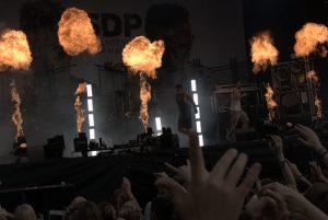 Bei SDP brannte, im wahrsten Sinne des Wortes, die Luft. Bild: Frank Lerke