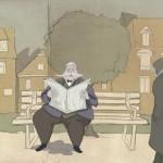 Freund Hein ist ein melancholischer Zeichentrick über zwei Menschen, um die sich keiner schert (mit freundlicher Genehmigung von Professor Jürgen Schopper)