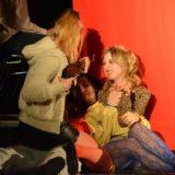 Love is a Battlefield - Albert (Andreas Pommer), Lisa (Julia Hellberg) und Lara (Kristin Vogel) haben Spaß. (Reihenfolge: von unten nach Oben)
